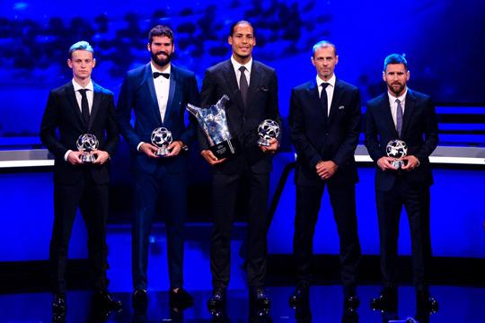 Uefa Men winners 2018/19