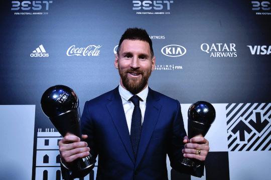 Lionel Messi Best FIFA Men's Winner 2019